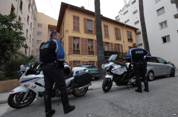 Police are guarding Herve Gourdel's home in Nice, south-eastern France