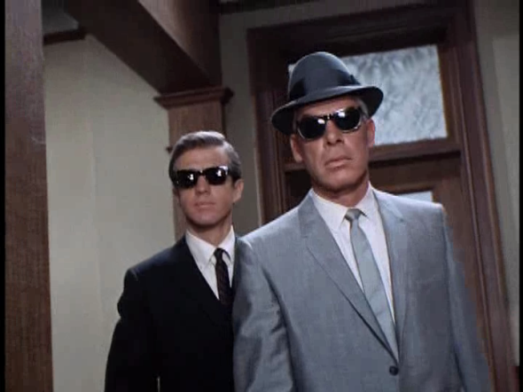Clu Gulager + Lee Marvin - The Killers (1964) shades-1
