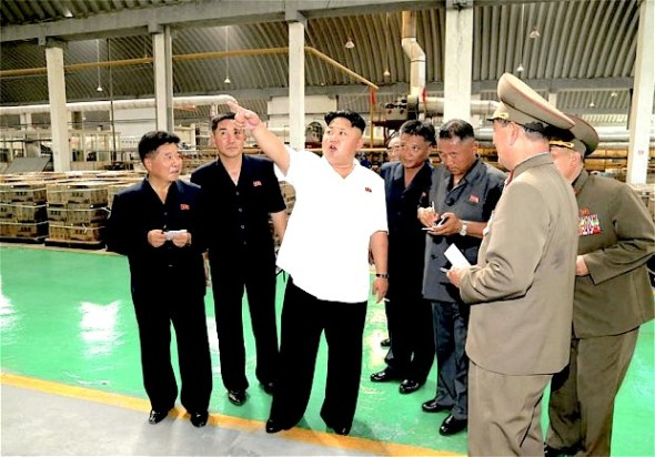 Kim Jong-un's failure to attend a session in parliament have prompted rumours about his health and suggestions that there had been a coup Photo: REUTERS/KCNA