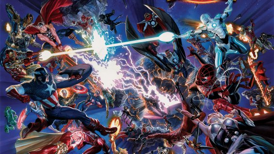 Marvel Entertainment started off its 75th anniversary celebrations at this year's New York Comic Con with the announcement of what the company is calling its biggest event yet: Secret Wars.