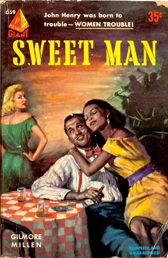 Vintage Pulp Cover Illustration Sweet Man Pundit From