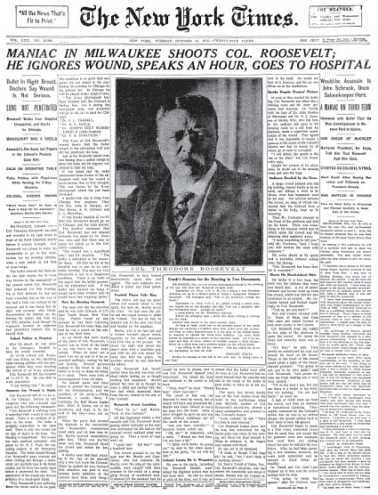 roosevelt headline