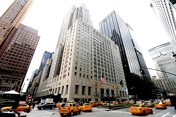 State Department officials said they are reviewing the sale of the famous hotel to a Chinese insurance company with possible ties to the country's Communist Party. JUSTIN LANE/EPA