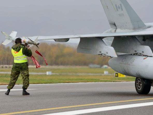 Canadian Air Force, Cpl Gabrielle DesRochers