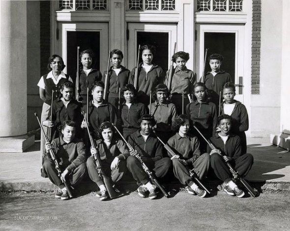 Howard-U-rifle-team