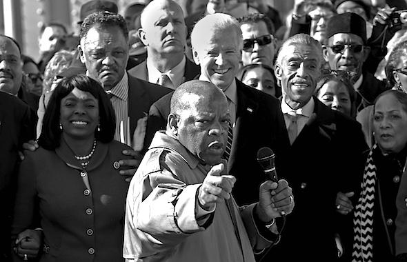 Joe Biden, John Lewis, Terri Sewell, Jesse Jackson