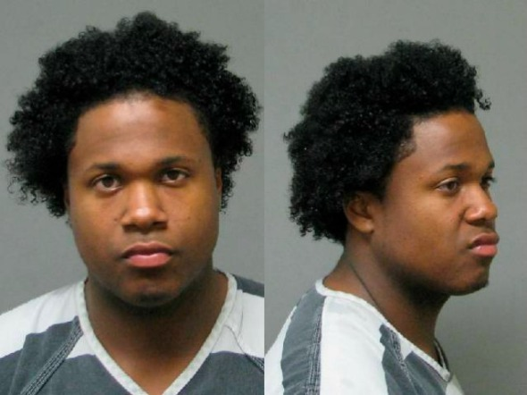 2009 booking photo from the Springfield, Ohio Police Department shows Brinsley after an arrest on a felony robbery charge.