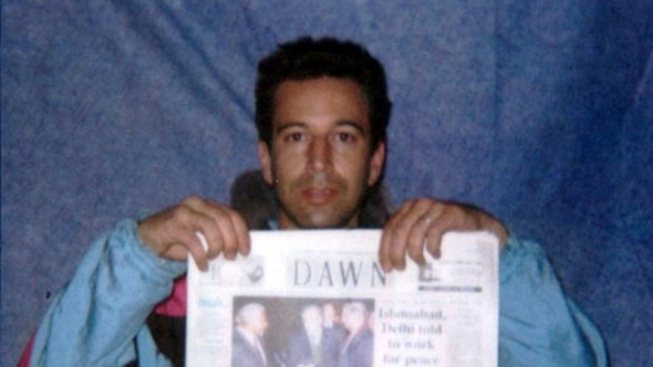Daniel Pearl, murdered by Khalid Sheikh Mohammed