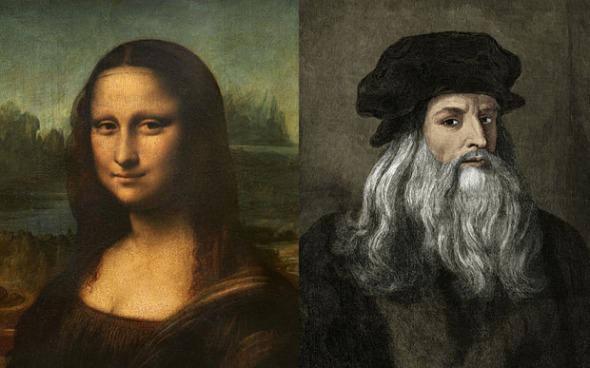 DV142066 Leonardo da Vinci Painting