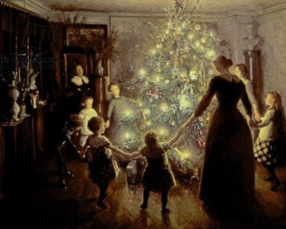 Silent Night, 1891 (oil on canvas)