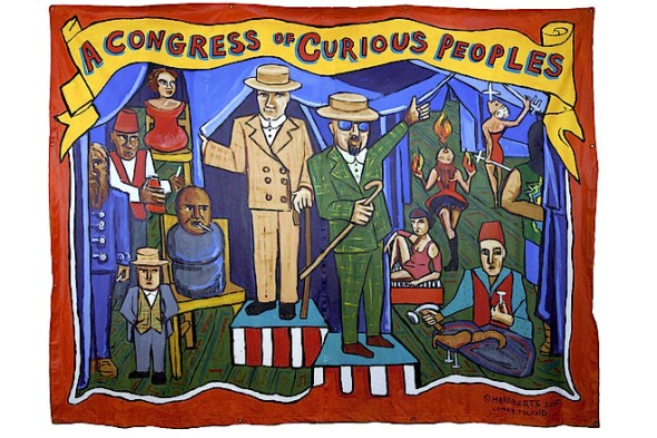 Marie Roberts | 'A Congress of Curious Peoples'  - COLLECTION OF LIZ AND MARC HARTZMAN