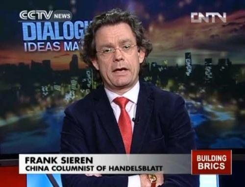 Frank Sieren, Beijing-based communist and media consultant