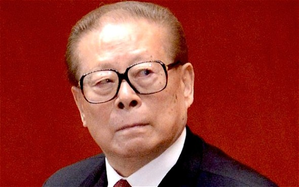 Chinese former president Jiang Zemin - WANG ZHAO/AFP/Getty Images