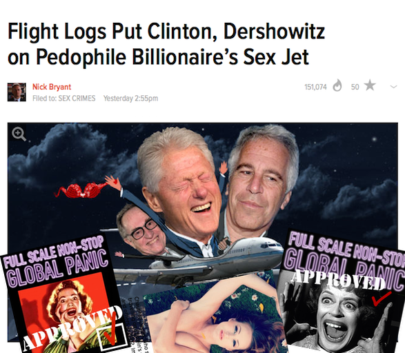 "Former Secret Service Agent Threatens To Reveal Details About Bill Clinton And Epstein's ""Lolita Express"" Lolita-express"