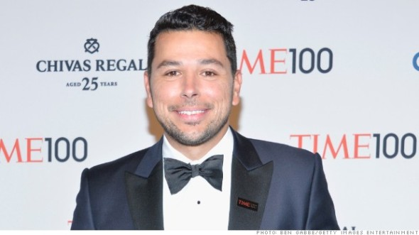Mohyeldin attends the TIME 100 Gala, TIME's 100 most influential people in the world, at Jazz at Lincoln Center on April 29, 2014 in New York City.
