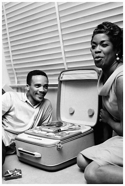 Quincy Jones and Sarah Vaughan, 1958