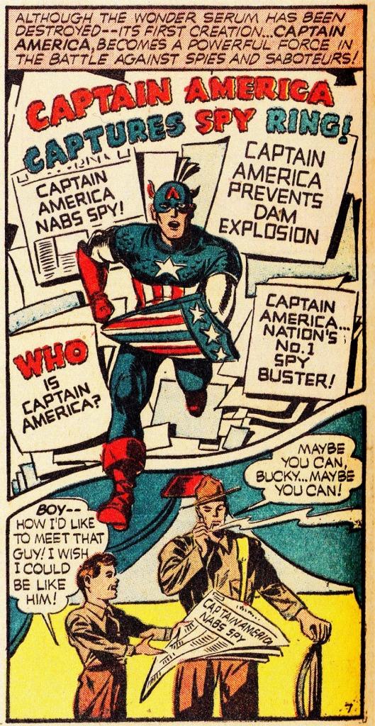 Captain America Comics 1 March 1941 Captain America Comics 1