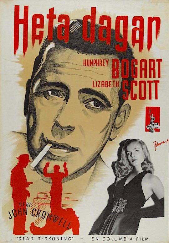 bogart-swedish-poster