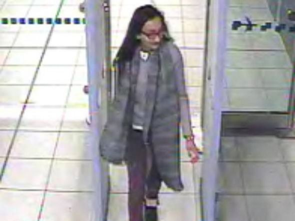 PHOTO: Scotland Yard released this image of Kadiza Sultana in Gatwick airport Feb. 17, purportedly on her way to the Middle East.