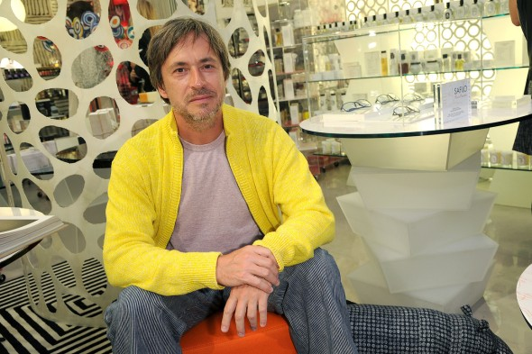 Last year, Apple hired Marc Newson, a well-known industrial designer and close friend of the company's design guru, Jony Ive. In the past, Mr. Newson has created a concept car for Ford. Photo: Getty Images