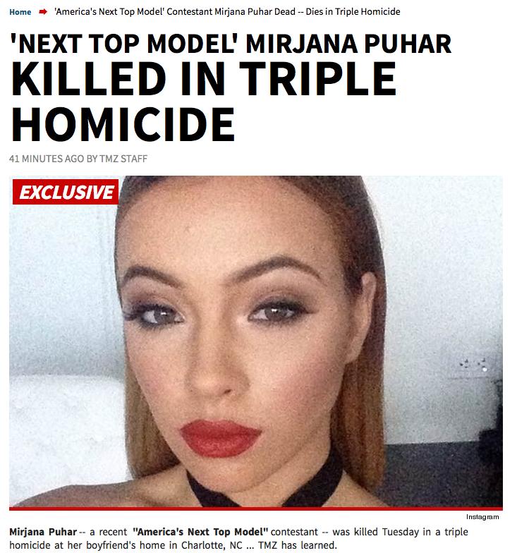 Mirjana Americas Next Top Model