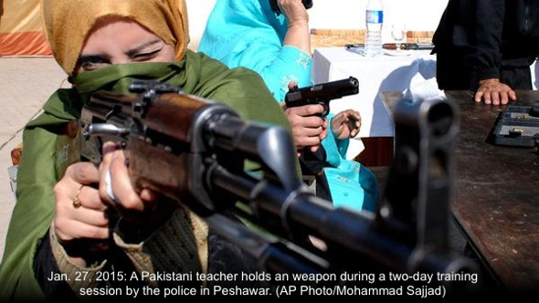 Peshawar-teacher-rifle