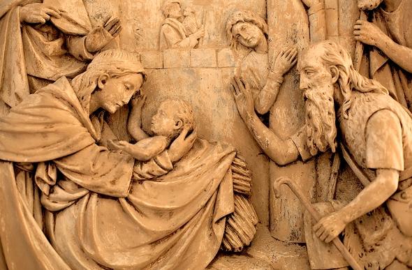 Relief-Sculpture