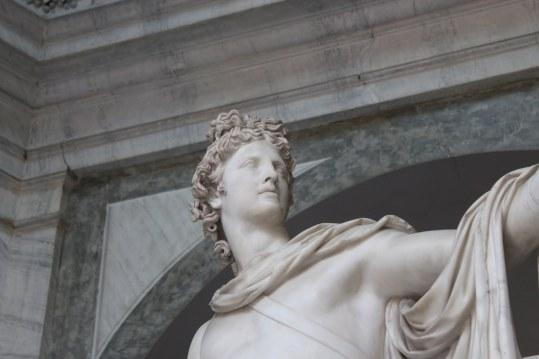 Rome, Vatican Museum, Octagonal Courtyard, Apollo sculpture (2)