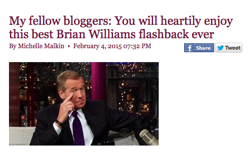 Michelle Malkin Brian Williams
