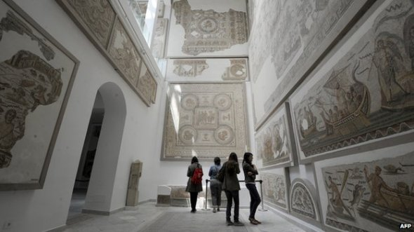The museum is a major attraction in Tunisia