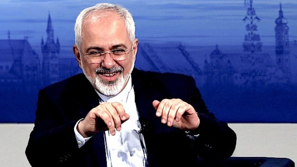 Iran's foreign minister Javad Zarif during the Munich Security Conference on February 8. Photo: Reuters