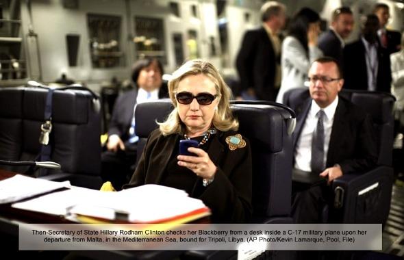 Hillary-blackberry