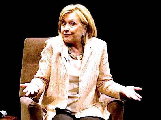 Hillary-Shrug