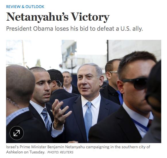 Netanyahu-victory-WSJ