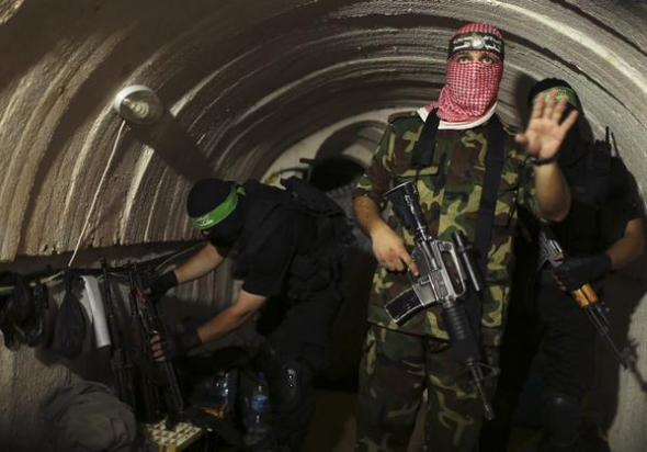 Hamas-tunnels