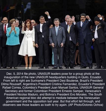Venezuela Regional Silence