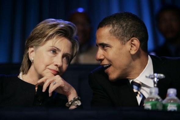 Hillary Rodham Clinton, Barack Obama