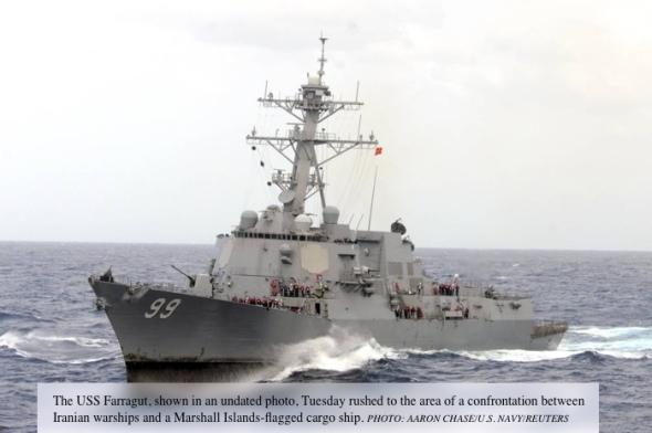 USS-Farragut-Iran
