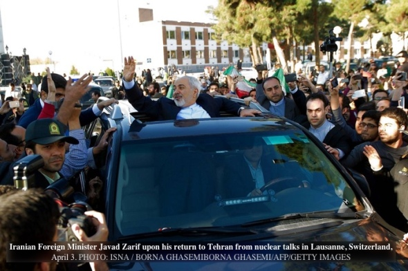 Zarif-WSJ-car