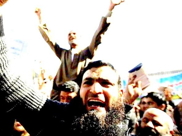 ISIS-yelling