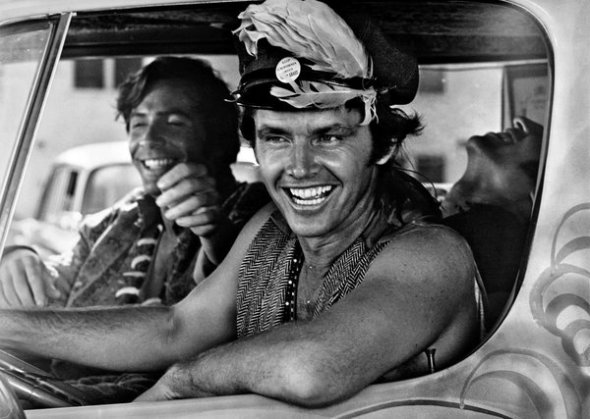 "Jack Nicholson, foreground, in American International Pictures' ""Psych-Out"" (1968). Credit Olive Films"
