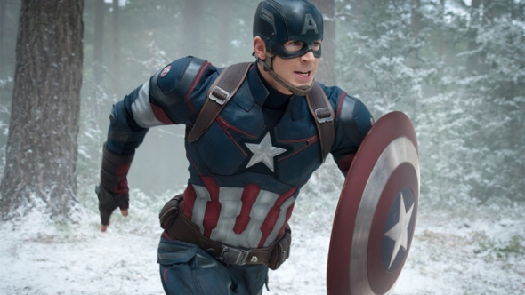 Marvel's Avengers: Age Of Ultron..Captain America/Steve Rogers (Chris Evans) ..Ph: Jay Maidment..?Marvel 2015