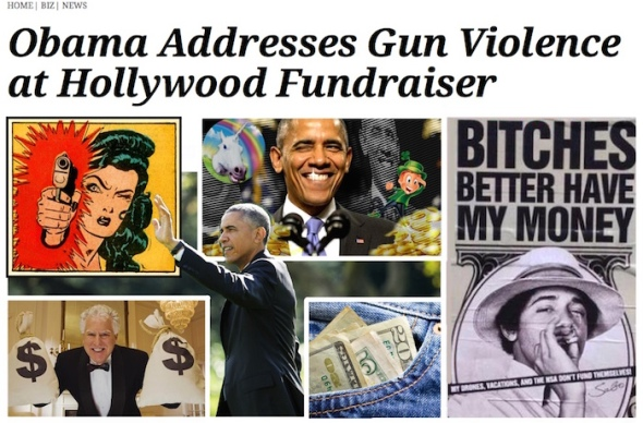 Hollywood-obama-violence-fundraising