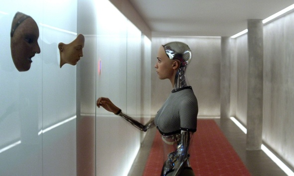 AI robot Ava in the film Ex Machina. Photograph: Allstar/FILM4/Sportsphoto Ltd./Allstar