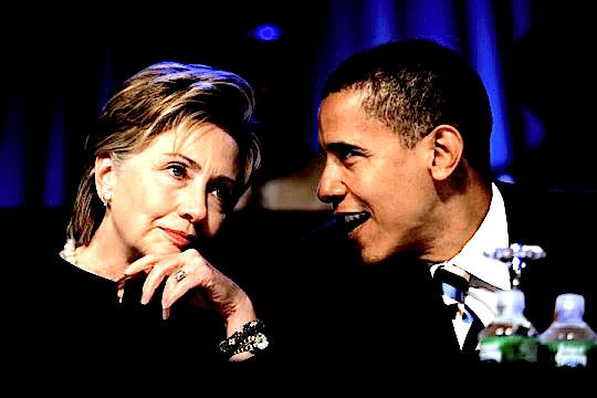 "** FILE ** Sen. Hillary Rodham Clinton, D-N.Y., speaks with Sen. Barack Obama, D-Ill., right, during the annual convention of the National Association for the Advancement of Colored People in Washington in this July 19, 2006 file photo. When Obama heads to Africa for a five-nation tour this week, he will take with him one credential no other U.S. senator can claim - and which, he says, may make Africans listen to what he has to say. Obama is a son of the continent. His late father was a goat herder who went on to become a Harvard-educated government economist for his native Kenya. That connection, he hopes, will give a special resonance to his words. ""One of the messages I'm going to send is that, ultimately, Africa is responsible for helping itself,"" Obama said in an interview Wednesday Aug. 16, 2006. (AP Photo/Evan Vucci, File)"