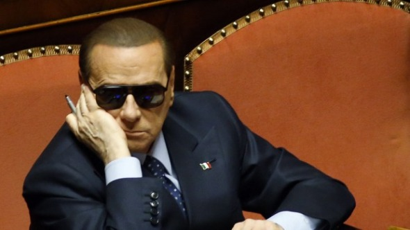 Silvio Berlusconi. Photo: Remo Casilli