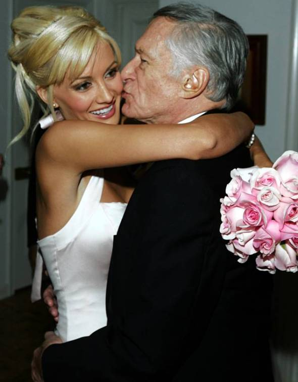 Ms. Madison and Hugh Hefner in 2004 Photo: Mathew Imaging/FilmMagic/Getty Images