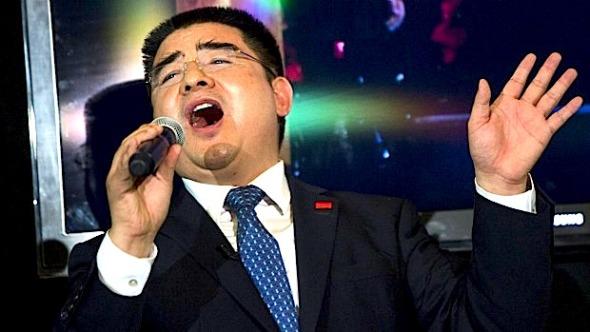 Chinese billionaire Chen Guangbiao. Photo:LUCAS JACKSON