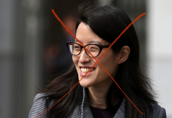SAN FRANCISCO, CA - MARCH 10:  Ellen Pao leaves the California Superior Court Civic Center Courthouse during a lunch break from her trial on March 10, 2015 in San Francisco, California. Reddit interim CEO Ellen Pao is suing her former employer, Silicon Valley venture capital firm Kleiner Perkins Caulfield and Byers, for $16 million alleging she was sexually harassed by male officials. (Photo by Justin Sullivan/Getty Images)