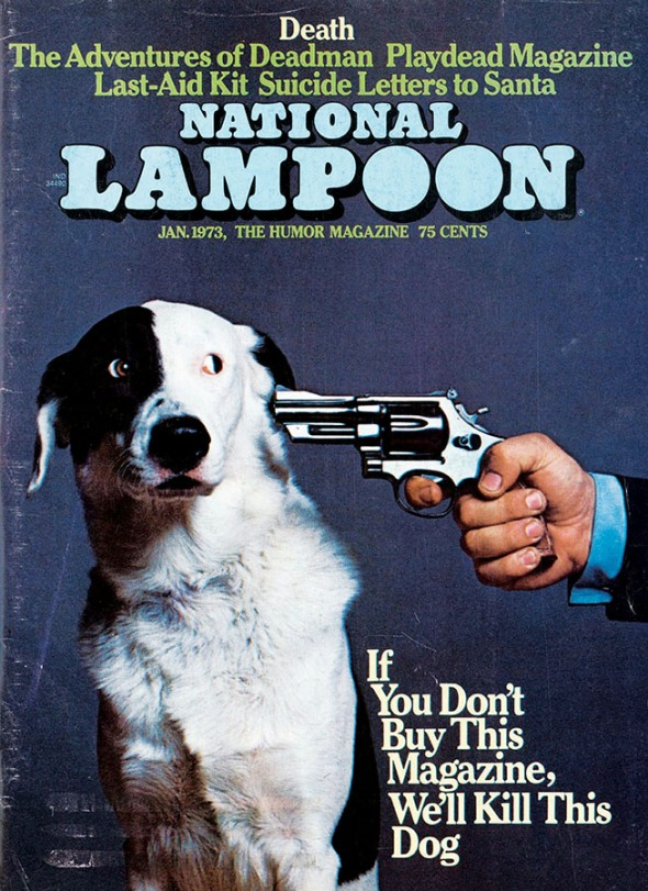 The iconic Lampoon cover from 1973.